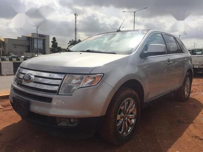 Ford Edge 2009 Silver color for sale