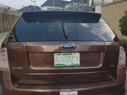 Ford Edge 2008 Brown for sale