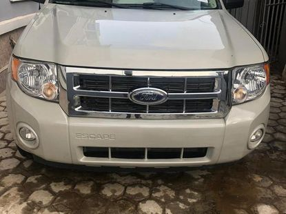 Ford Escape 2008 Whitefor sale