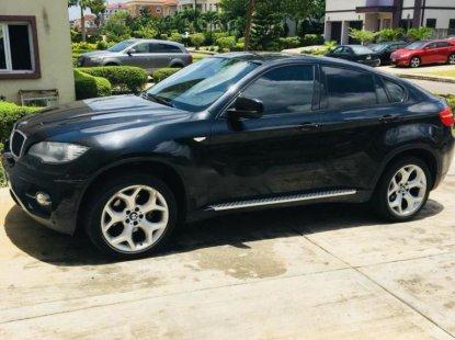 BMW X6 Petrol 2010 Black for sale
