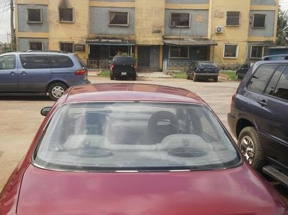 Mazda 626 1996 Red for sale