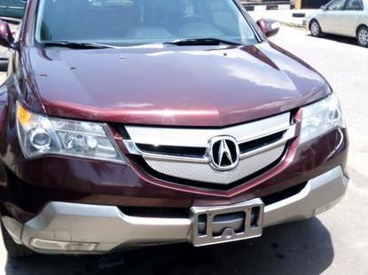 Acura MDX 2007 Red for sale