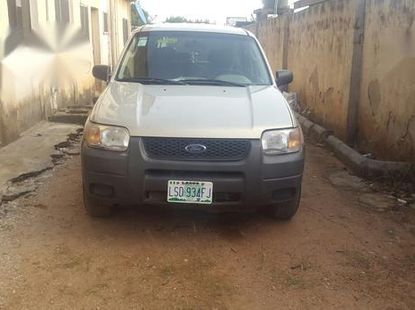 Ford Escape 2004 XLT Beige for sale