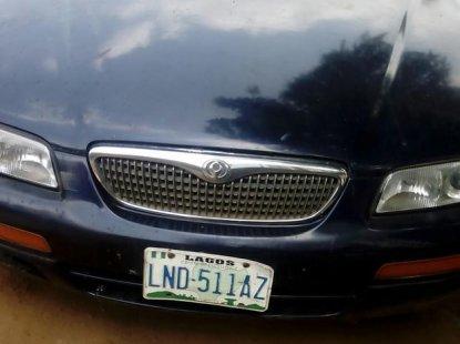 Mazda 626 1999 Blue for sale