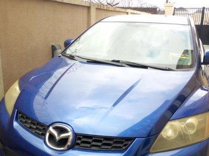 Toks Mazda CX-7 2007 Blue for sale