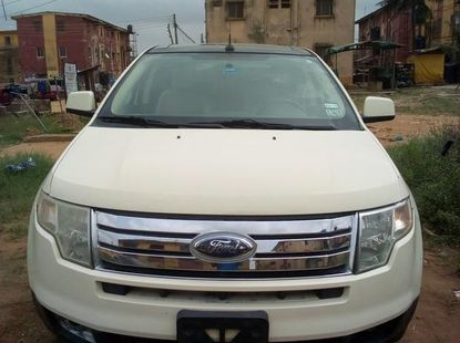 US spec Ford Edge 2009 White color for sale