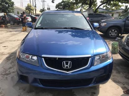 Acura TSX Automatic 2005 Blue for sale