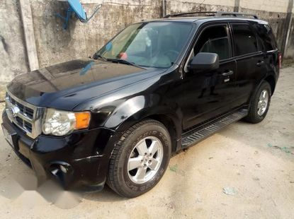 Ford Escape 2011 XLT Black for sale