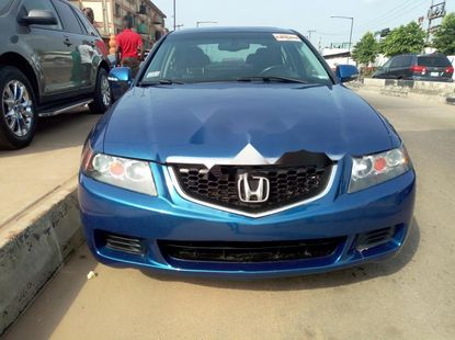 2005 Acura TSX Petrol Automatic Blue for sale
