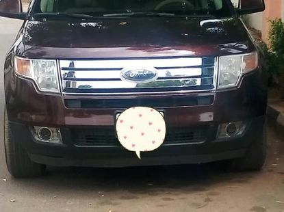 Very clean Ford Edge 2010 Red color for sale