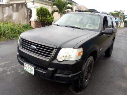 Ford Explorer 2007 Black for sale