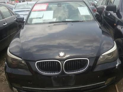 BMW 523i 2007 Black for sale