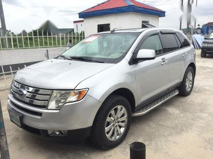 Very clean Ford Edge 2008 gray color for sale
