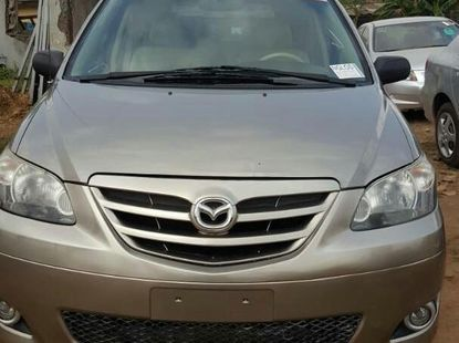 Mazda MPV 2004 Gray for sale