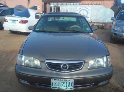 Mazda 626 2002 Gray for sale