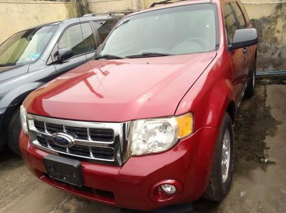 Ford Escape 2009 Red for sale