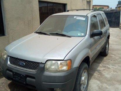 Ford Escape 2002 Silver for sale
