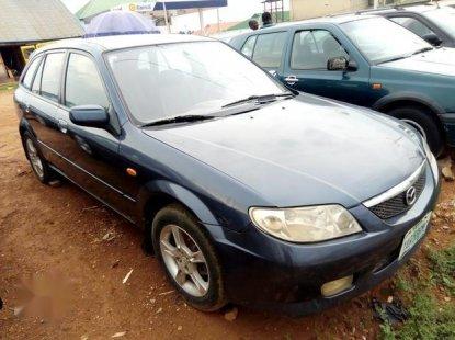 Mazda 323 2003 Blue for sale