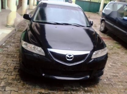 Clean fairly used  Mazda MX-6 2004 Black color for sale