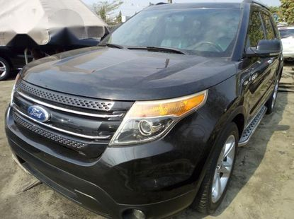 Ford Explorer 2013 Silverfor sale
