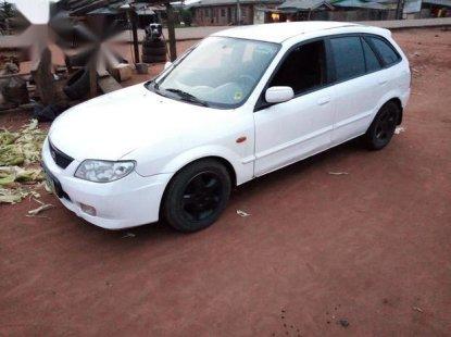 Mazda 323 2003 Whitefor sale