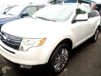 Ford Edge 2009 Whitefor sale