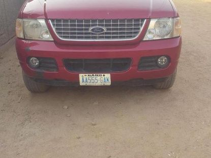 Ford Explorer 2004 Limited 4.6 Red for sale