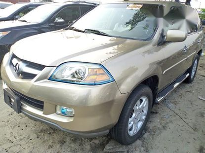 Acura MDX 2006 Gold automatic foreign used for sale