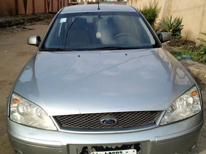 Ford Mondeo 2003 Gray for sale