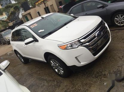 Ford Edge 2013 Whitefor sale