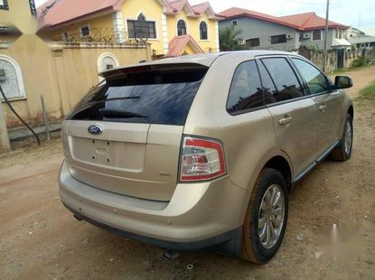 Ford Edge 2007 Gold for sale