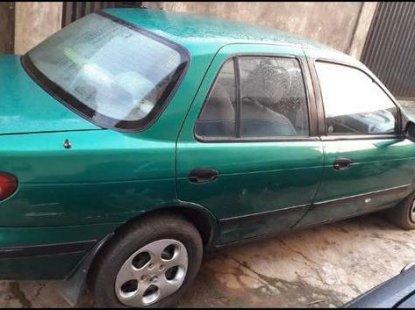 Super clean Kia Sephia 1996 Green color for sale