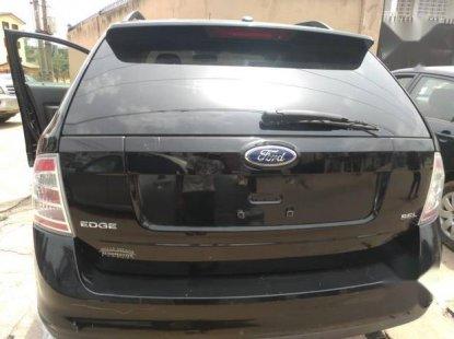 Toks Super Clean  Ford Edge 2008 Black color for sale