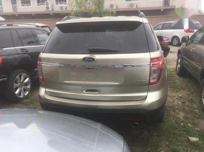 Ford Explorer 2014 Gold for sale
