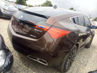Brown 2010 Acura ZDX automatic at mileage 58,096 for sale