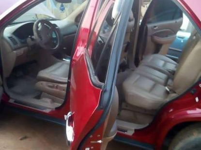 Sell cheap red 2005 Acura MDX suv automatic in Lagos