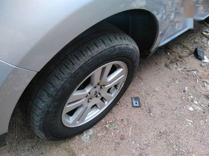 Used grey/silver 2010 Ford Edge automatic for sale in Lagos
