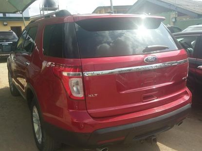 Well maintained 2012 Ford Explorer automatic for sale at price ₦5,800,000