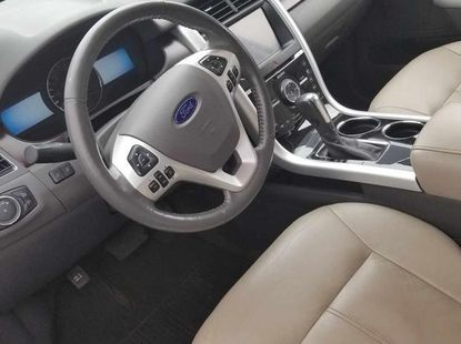 Ford Edge 2012 Silver for sale