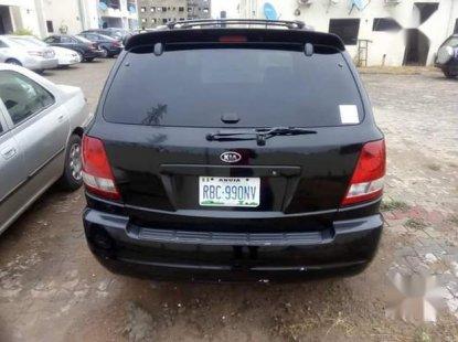 Used black 2004 Kia Sorento for sale at price ₦900,000 in Abuja