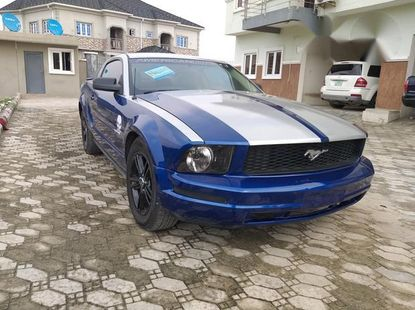 Ford Mustang Coupe 2007 Blue for sale