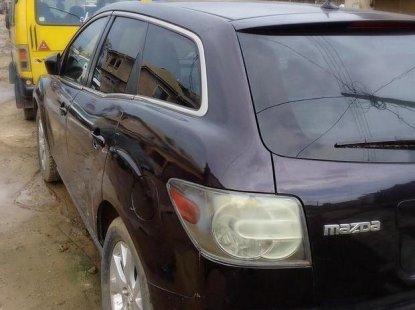 Mazda CX-7 2007 black for sale