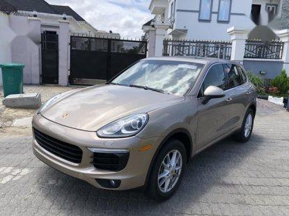 Porsche Cayenne 2015 Gold for sale