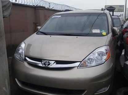 TOYOTA SIENNA LIMITED EDITION AWD 2007 MODEL