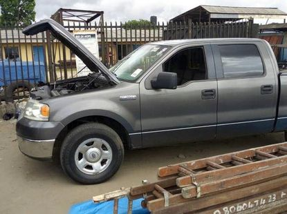 Used black 2006 Ford F-150 automatic for sale in Warri