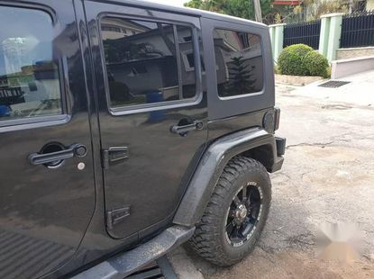 Clean and neat black 2008 Jeep Wrangler for sale