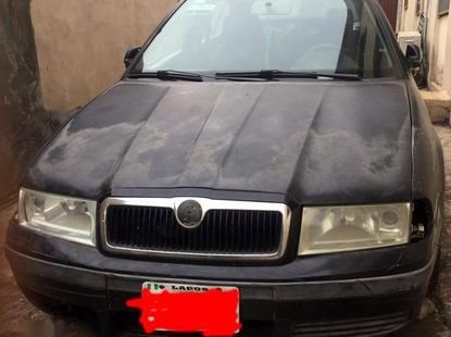 Used 2004 Skoda Octavia car at attractive price in Lagos