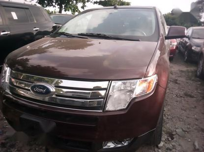 Selling red 2010 Ford Edge suv automatic in Lagos