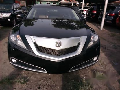 Clean Acura ZDX 2011 Black for sale