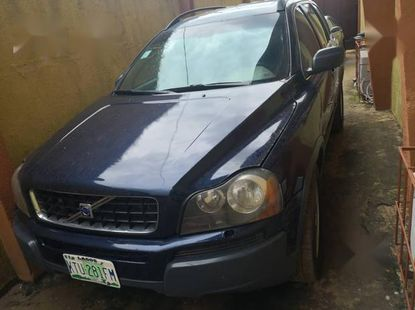 Volvo XC90 2004 Blue for sale